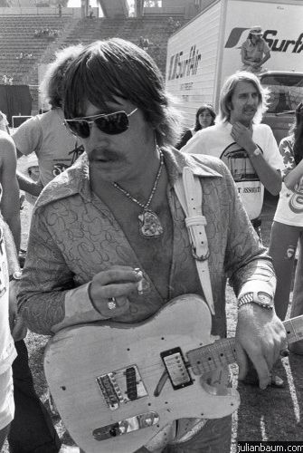 Terry Kath - guitar, bass and lead vocals of the legendary rock band, Chicago