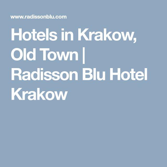 Hotels in Krakow, Old Town   Radisson Blu Hotel Krakow