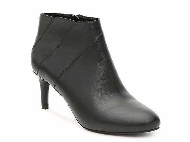 Women S Black Low Heel 1 2 Mid Heel 2 3 Dress Boots Dsw Ankle Strap Heels Boots Shoes