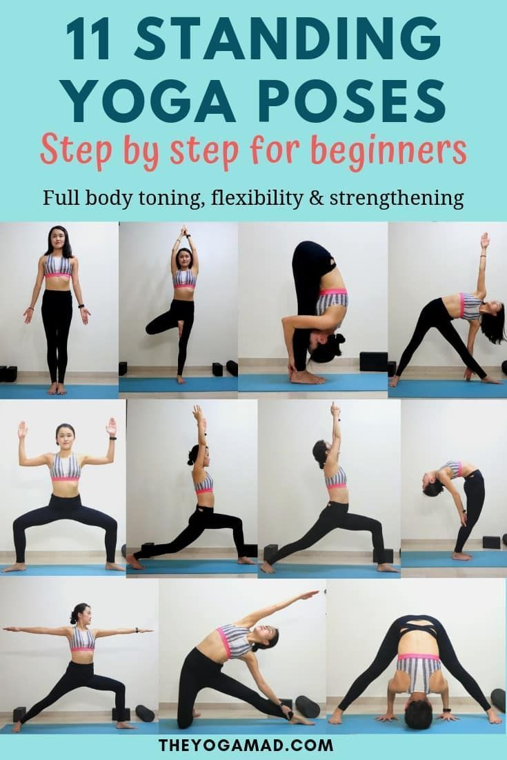 Standing Yoga Poses Beginners