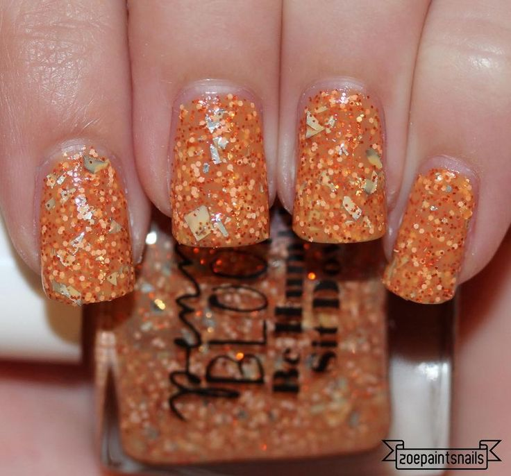 This is Be Humble, Sit Down from @pennybloompolish! At Penny Bloom, you can create your own custom polishes. You can get 20% off with my code ZOE20 Here's how I made Be Humble, Sit Down: Orange Polish Copper Orange Hex XS Peach Hex S Silver Flakes Blog post is up! Link in my bio. - - - #nailpolish #nails #custom #pennybloompolish #behumblesitdown #orange #orangenails #holo #glitter #nailgasm #swatch #swatcher #indiepolish #indienails #indieswatch #indiesshakeitbetter #indielove…