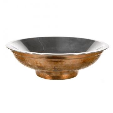 49290 - Indian Bowl Copper Polished 17cm
