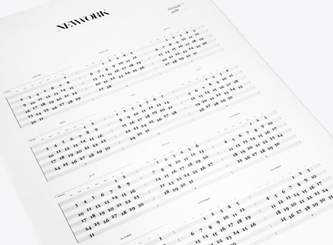Calendar by Studio Newwork