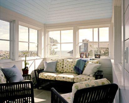 House At Gap Head, Contemporary Family Room, Boston