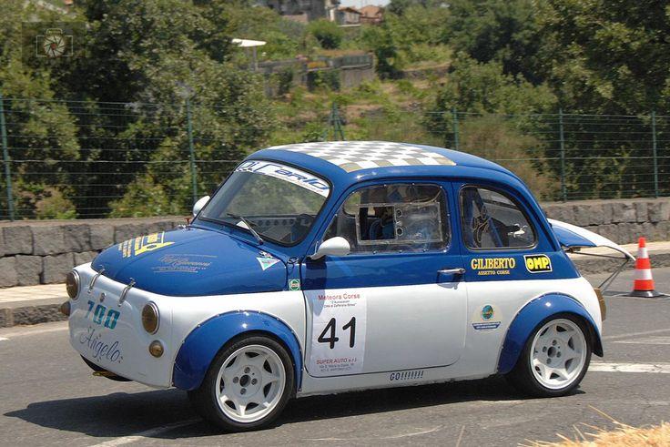 Rally Fiat 500 von Photo de Vincenzo