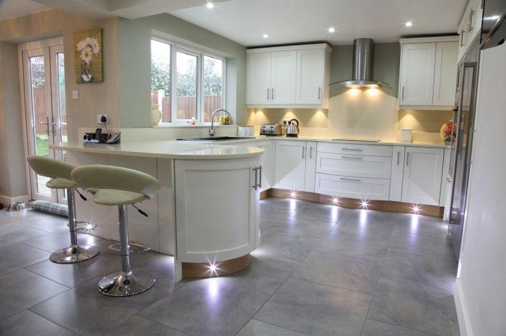 Modern White Shaker Kitchen Inspiration Decorating 42285 Kitchen