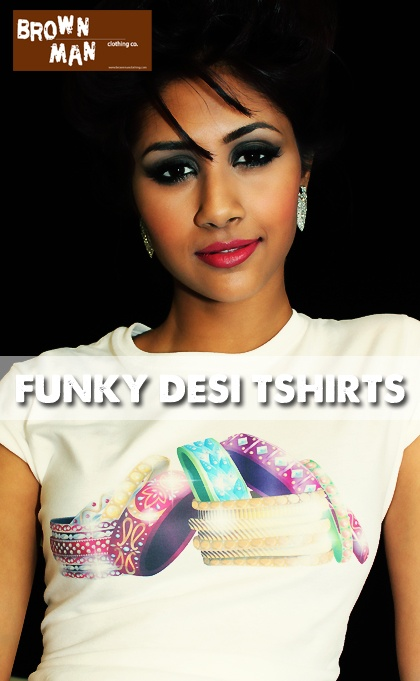 Indian Bangles shirt made its debut during our 2013 Model Contest photo shoot. Like it?