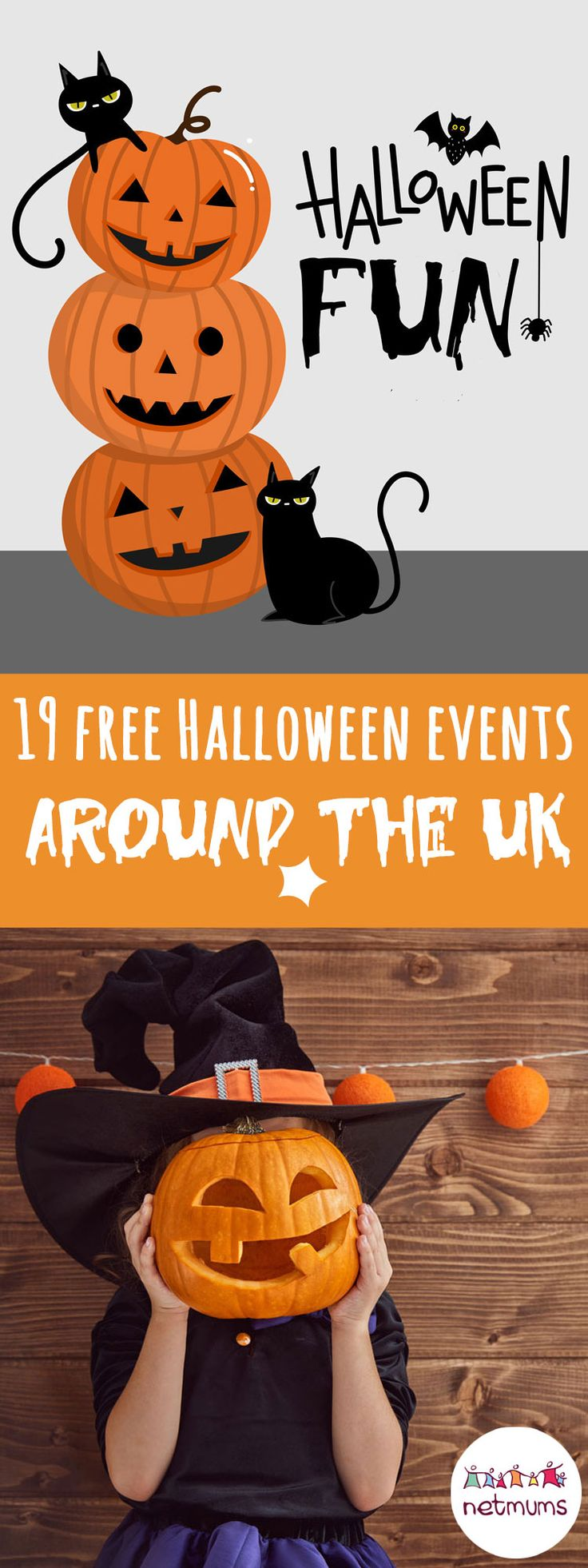 Top 19 free Halloween events around the UK. Looking for days out with your kids this Halloween that won't cost you a penny. You're in luck ... here are 19 of the best free Halloween events across the UK.