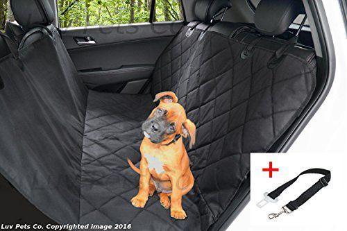 Luv Pets Co. Luxe Hamac de voyage pour Chien – Couverture pour sièges auto – Protection des sièges arrières – Matériaux robustes et…