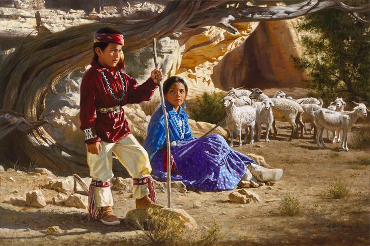 an analysis of an exotic native american painting Introduction to romanticism and later in some of the arts, like music and painting the everyday and the exotic.