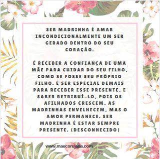 Frases de Madrinhas Corujas para seus afilhados lindos!