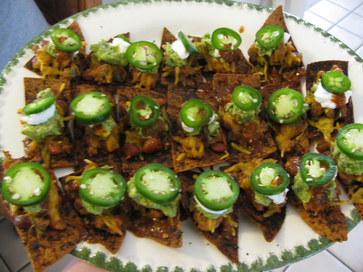 These nachos are amazing plus they INCREASE METABOLISM! Can't wait for Sunday Football to make these :)