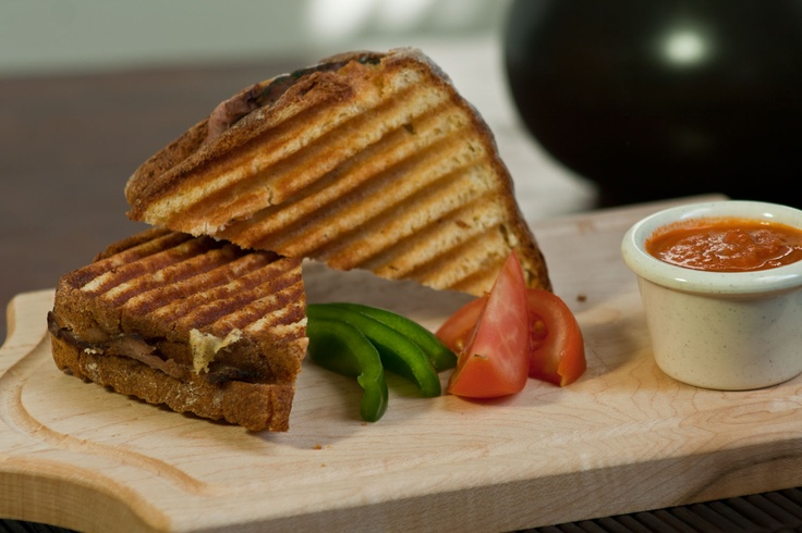 Grilled panini. http://www.steannes.com/bakery.html