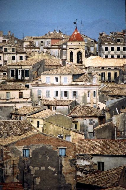 Above Old Town, Corfu - Greece