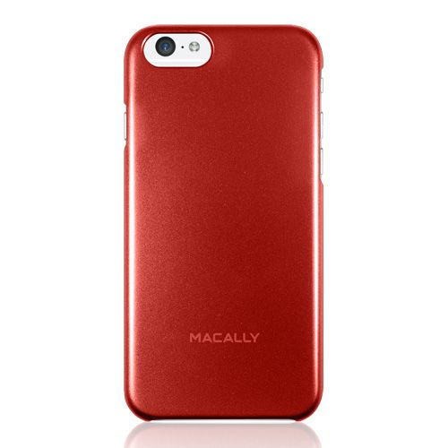 """Macally Protective Metallic Snap On Case (SNAPP6M-R) Red (iPhone 6 - 4.7"""") - myThiki.gr - Θήκες Κινητών-Αξεσουάρ για Smartphones και Tablets - Macally AlumSnap Red"""