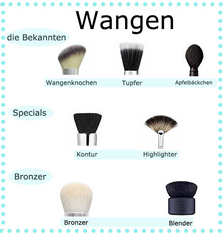 Make-up Pinsel Wangen