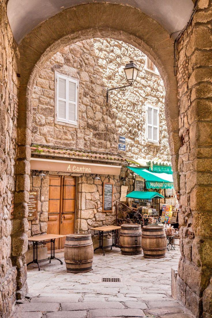 Sartène, Corse.
