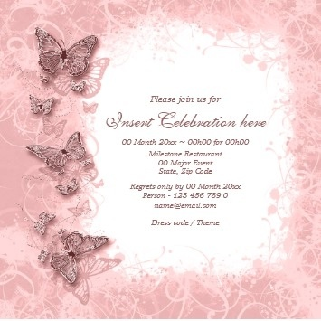 23 best Quince invitation ideas images on Pinterest Quince - engagement invitation cards templates