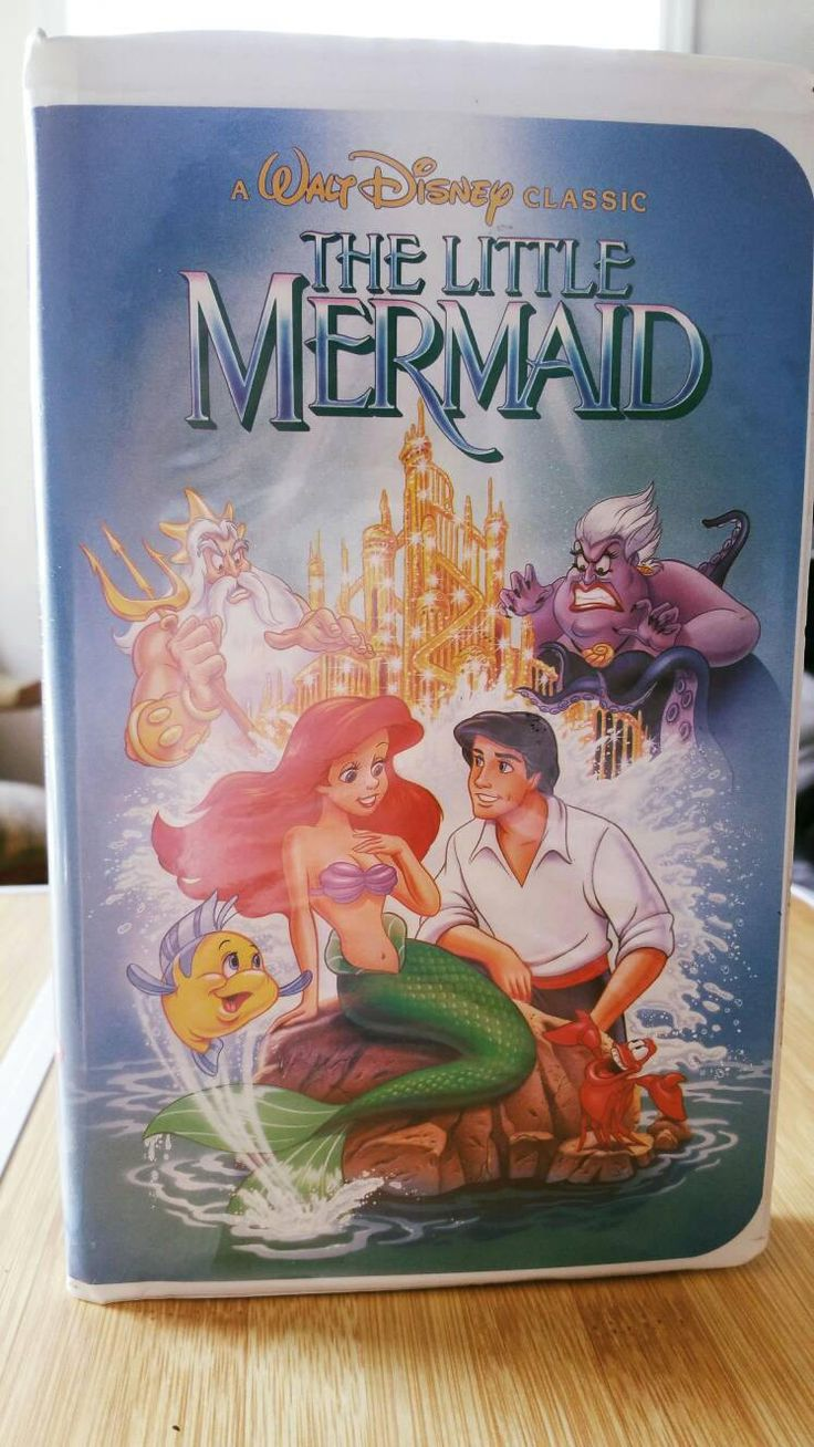 Looking for a gift? Start here   1990 Vintage The Little Mermaid VHS / Original Cover Art / Banned Cover Art / Bl...  https://www.etsy.com/listing/522578315/1990-vintage-the-little-mermaid-vhs?utm_campaign=crowdfire&utm_content=crowdfire&utm_medium=social&utm_source=pinterest
