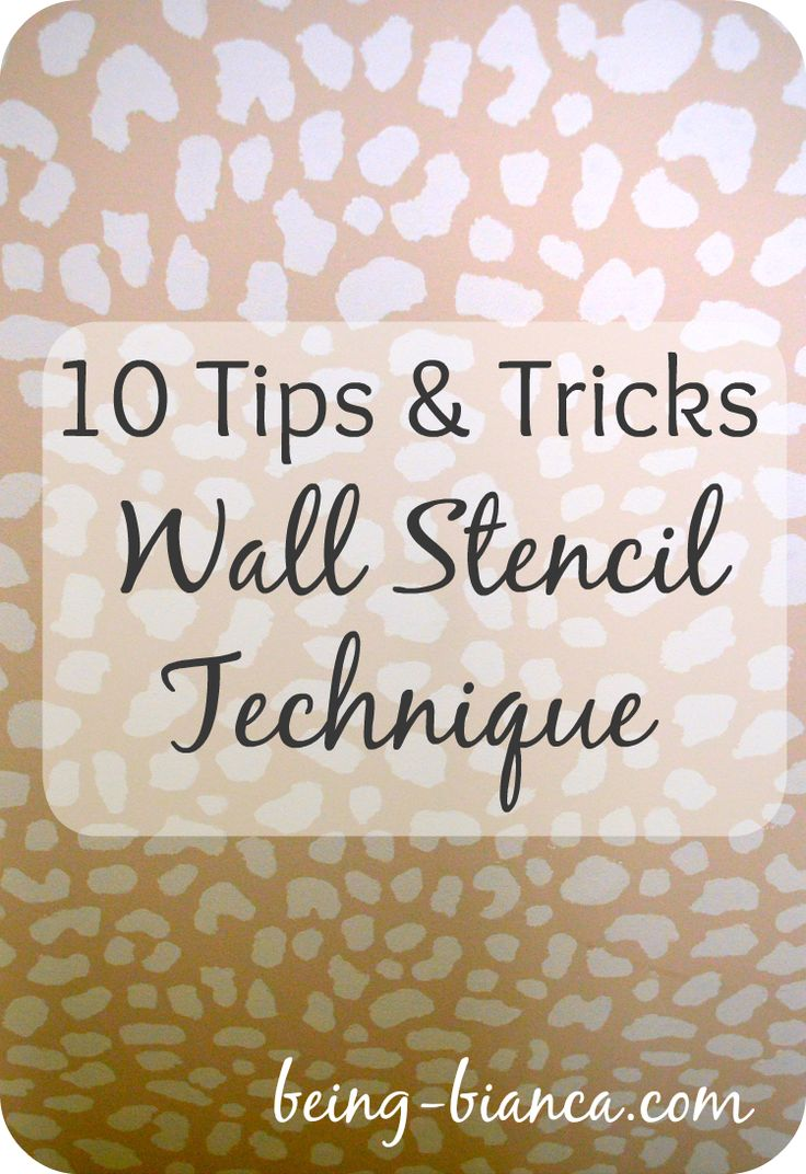 93 best stencils images on pinterest wall stenciling royal 10 lessons i learned while doing a full room diy stencil paint project make your life easier by using these tips dress up an impact wall or entire room amipublicfo Gallery