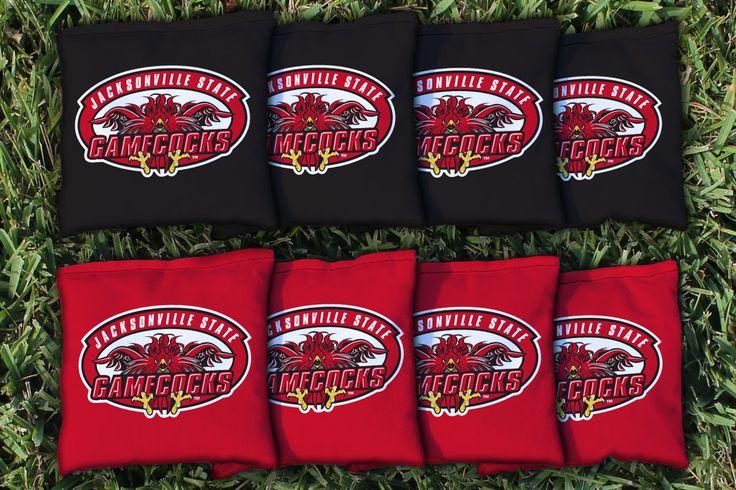 Cornhole All Weather Bag Set - Jacksonville State
