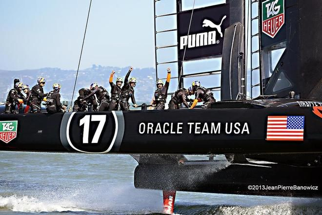 America's Cup:Gary Jobson goes One on One with Jimmy Spithill Part 1 of 5