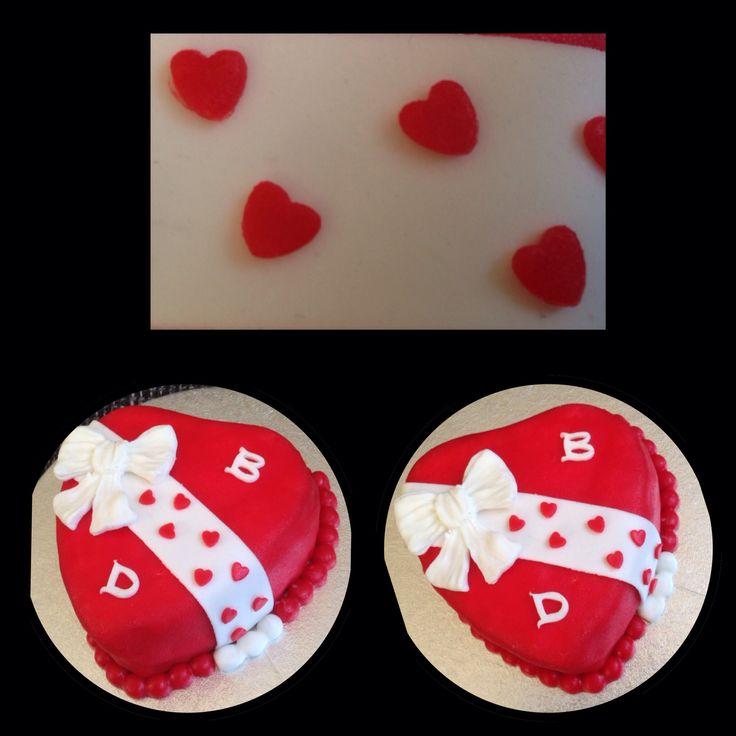 Valentijn taart / cake