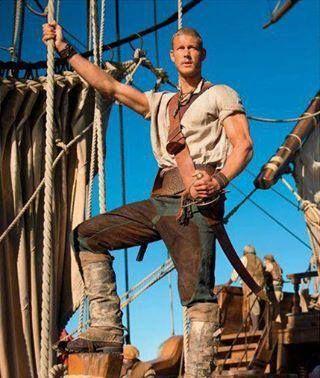 Tom Hopper in Black Sails, Billy Bones character, swoon