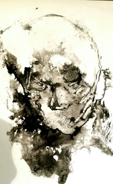 Souldance  Ink on paper by Anne Marie Tangen