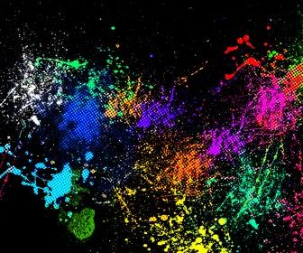 paintball splat backgrounds - photo #14
