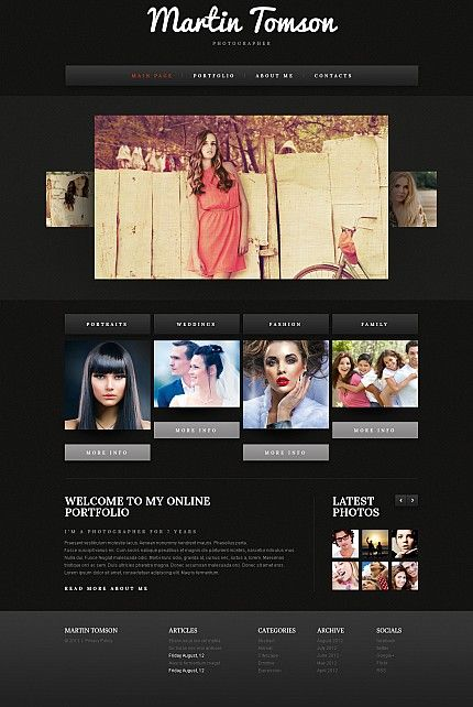 Premium Flash Photo Gallery Template #43284
