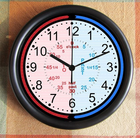Learn TO TELL TIME      http://www.etsy.com/listing/156433127/learn-to-tell-time-student-toddler-child?ref=br_feed_54_feed_tlp=home-garden
