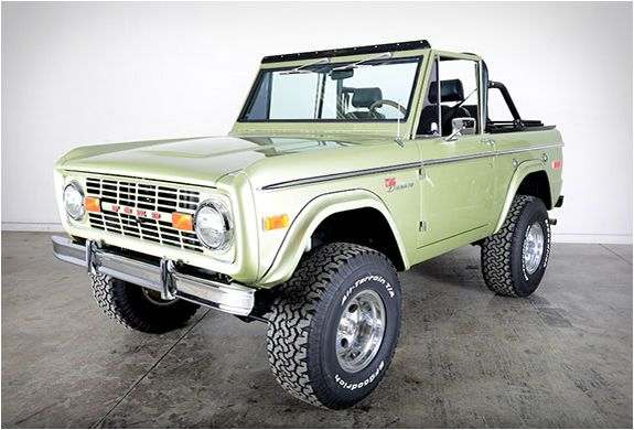 Classic Ford Broncos is an US company that specializes in restoring early model Ford Broncos. They hand-build only a small volume of Broncos each year, using only the best, original Ford Bronco bodies, and top of the line components. In fact, their r