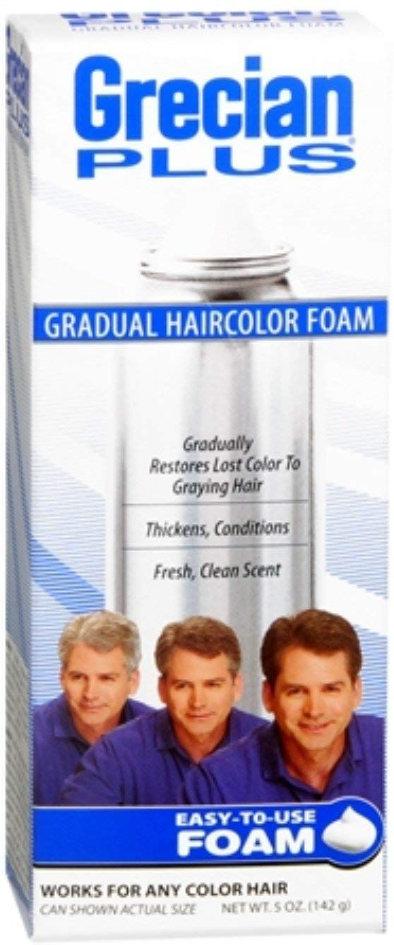 Grecian Plus Haircolor Foam 5 Oz Pack Of 5 To View Further For