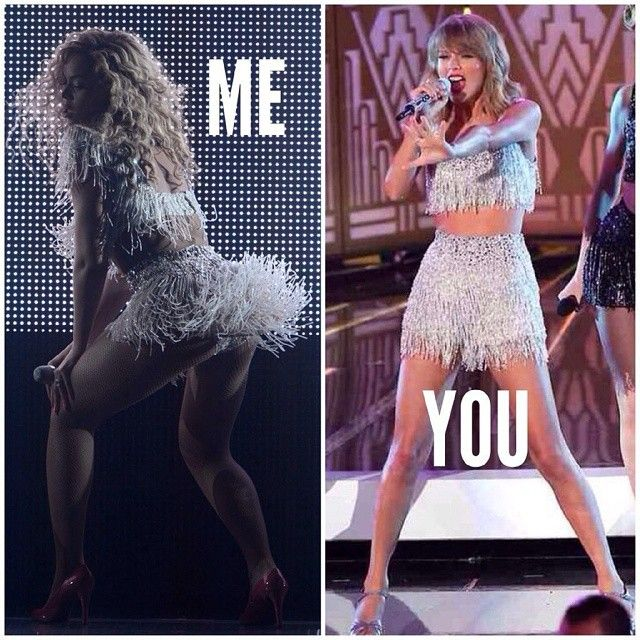 Beyoncé v Taylor Swift