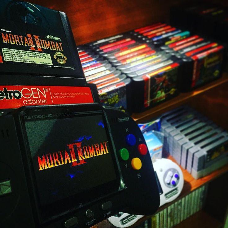 By tropicalbits: Fight night! #mortalkombat II is the most emblematic #mk game from the saga!  #sega #segagenesis #megadrive #nintendolife #Nintendo #ninstagram #retro #retrogamer #retrogames #retrogaming #retrocollective #game #gamer #games #gaming #game