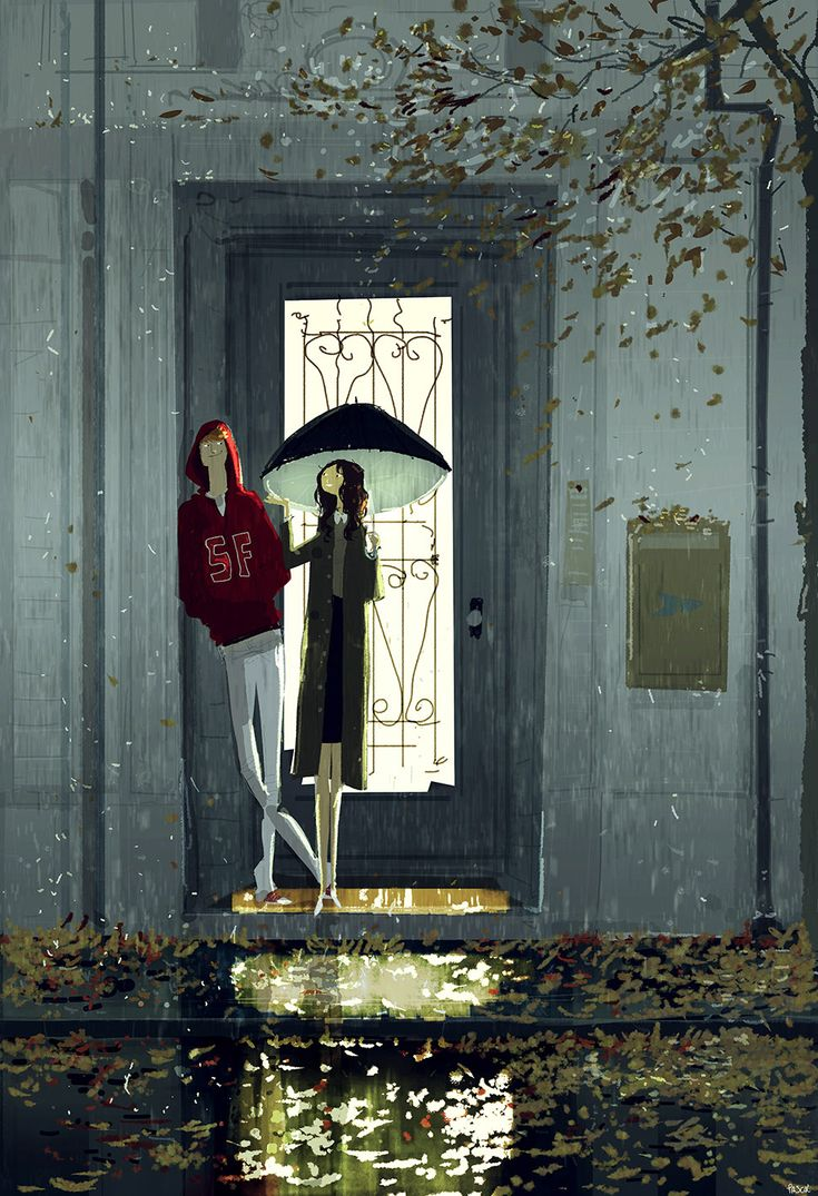 -What does it feel like? -Fall! #pascalcampionart