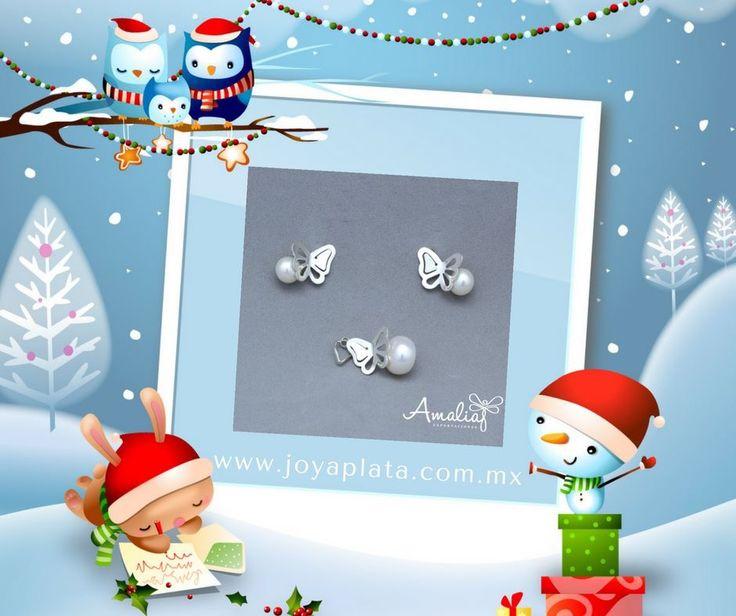 ¿Aún no tienes el regalo perfecto para esta Noche Buena?  Entra a www.joyaplata.com.mx y elige lo que más te guste. #plata #joya #taxco #joyasamalia