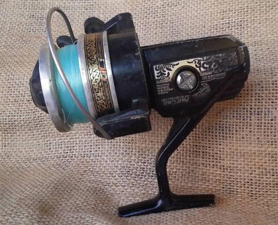 Shimano Fishing reel Vintage Shimano fishing by JerrysVintageDepot