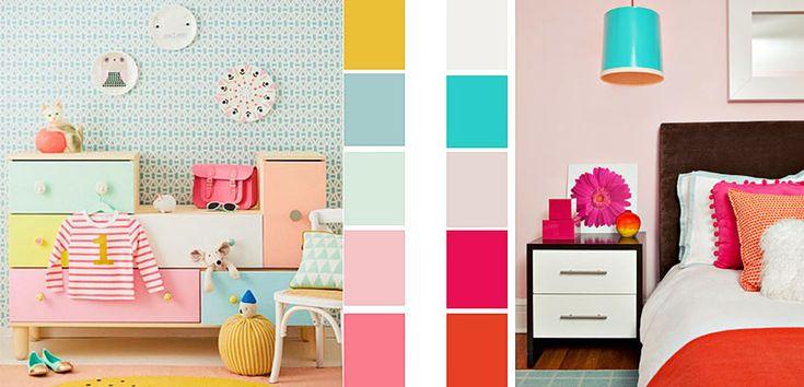1000 ideas about colores para dormitorio on pinterest for Decoracion de recamaras infantiles