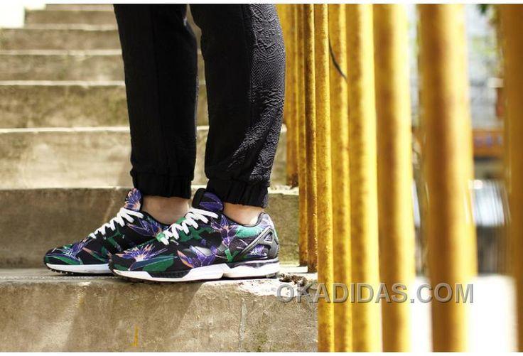 http://www.okadidas.com/adidas-zx-flux-women-flora-black-green-for-sale.html ADIDAS ZX FLUX WOMEN FLORA BLACK GREEN FOR SALE : $70.00