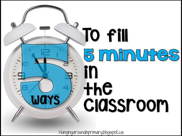 5 Ways to Fill 5 Minutes in the Classroom - make the most of every minute and teach math and literacy skills at the same time. 3 simple games/activities you can play as well as website you should use and a new product that will help you teach Phonemic Awareness skills.
