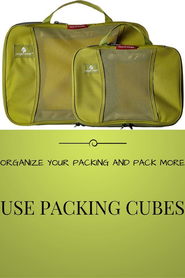 Get maximum gear in minimal space with the Pack-It Compression Cube Set!