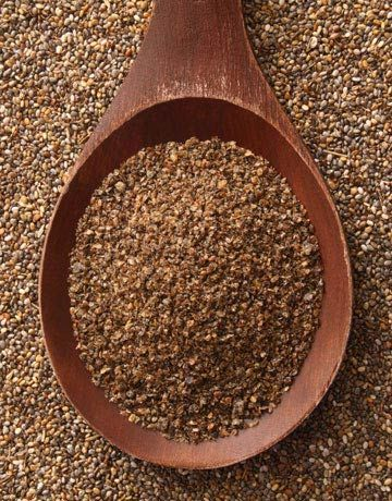 Four tablespoons of chia seeds supply as much calcium as three cups of milk, as much magnesium as 10 stalks of broccoli, as much iron as one-half cup of red kidney beans, 30% more antioxidants than blueberries, 25% more dietary fiber than flaxseed and approximately the same amount of omega-3 as a 32-ounce fillet of salmon. Instead of a typical hot breakfast cereal, try a chia breakfast pudding for a more nutritious start to your day