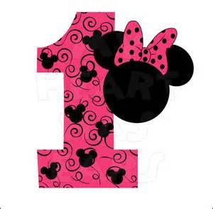 Downloadable Pink Minnie Mouse Clip Art