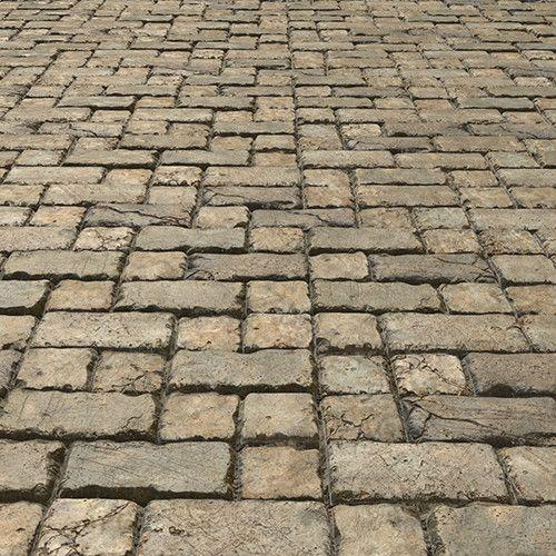 Stone Floor Texture Study, Bruno Morin on ArtStation at https://www.artstation.com/artwork/o0ggJ