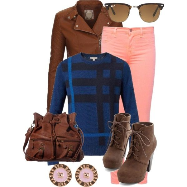 """Burberry sweater"" by gelykou on Polyvore"