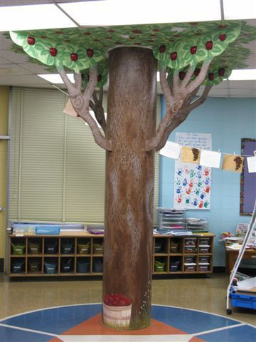 classroom apple tree: Classroom Environment, Classroom Apple, Library Trees, Classroom Displays, Boards Classroom Doors