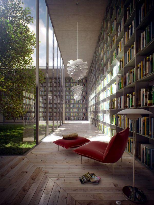 自宅が蔦屋書店みたいに!憧れの図書館風インテリアコーディネート