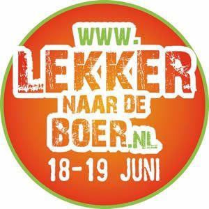 Lekker naar de, biologische, Boer Tijdens het 'Lekker naar de Boer' weekend kun je bij 180 biologische boerenbedrijven in heel Nederland terecht voor rondleidingen, boerenmarkten, proeverijen en allerlei andere (kinder) activiteiten. Je ziet, ruikt, proeft en ervaart het biologische boerenleven en je kunt kennis... - http://gezondheidenvoeding.nl/evenement/lekker-naar-biologische-boer/